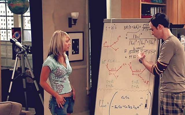 The Big Bang Theory promueve stem