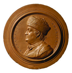 Terra Cotta Franklin medal ICP Ia