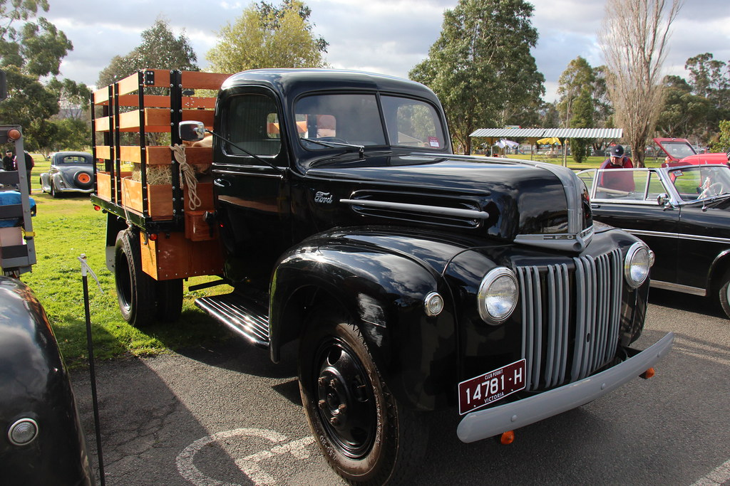 New Chevy Trucks >> 1947 Ford Jailbar 1 1/2 Ton Truck | Vermillion. Ford had ...
