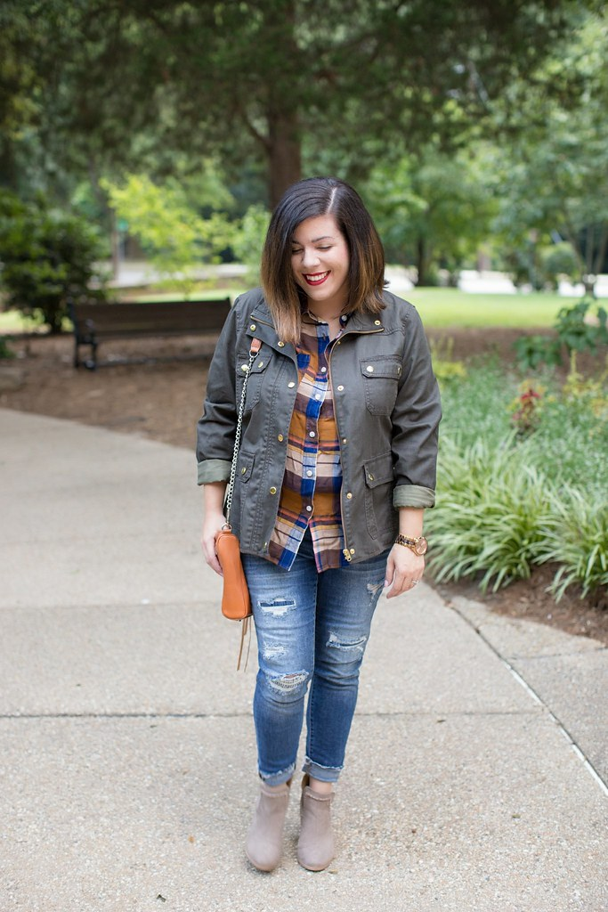 Head to Toe Chic-plaid-@akeeleywhite