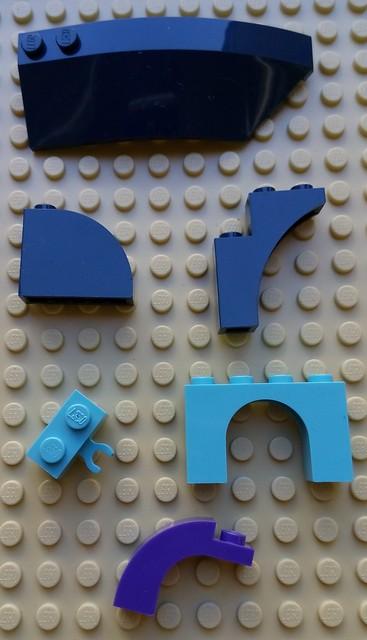 LEGO 41073 Elves - Rare pieces