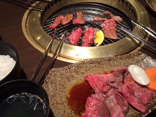牛和鹿で焼肉ランチ
