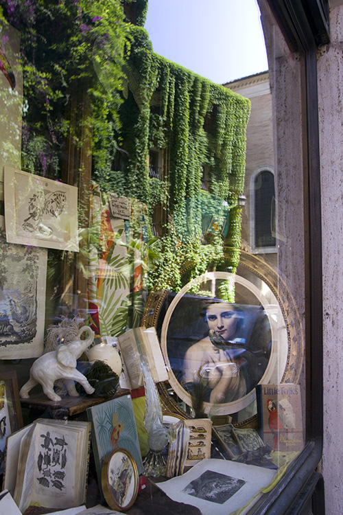 Rome display window