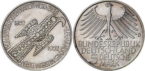 1952 'Germanisches Museum' Commemorative pattern