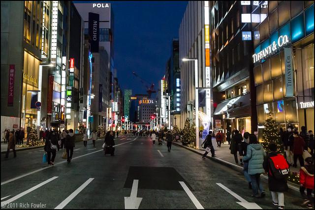 Ginza Pedestrian Sunday