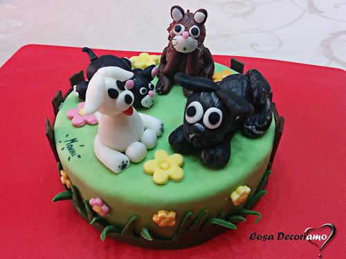 Torte - 101 - Torta Cuccioli