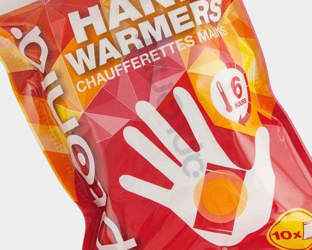 Bolsitas térmicas para las manos y pies