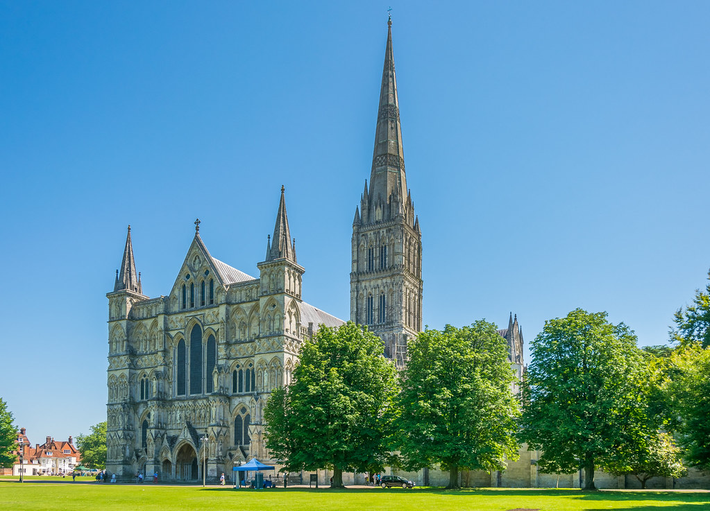 Salisbury Cathedral, Wiltshire | ==PLEASE PRESS 'L' TO