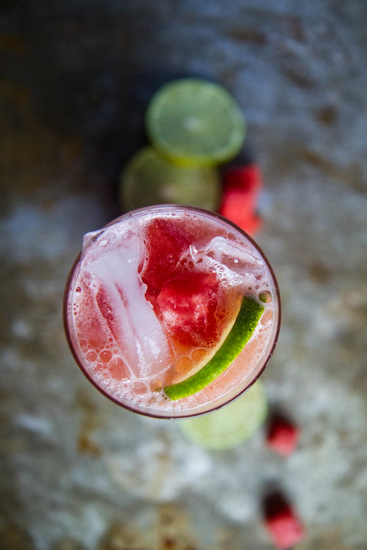 Like this extra perfect Watermelon Vodka Limeade. It is actually the ...
