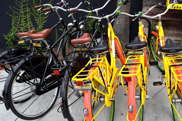 Hire Bikes at Farmers Daughter Hotel, West Hollywood