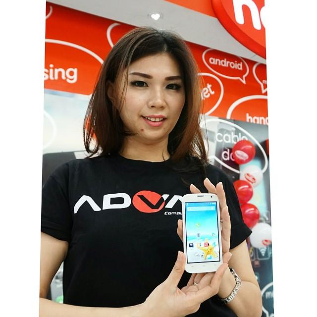 ... #Advan meluncurkan ponsel yang menyasar segmen pemula, Star Fit dengan prosesor empat inti meski