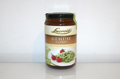 07 - Zutat Gemüsefond / Ingredient vegetable stock