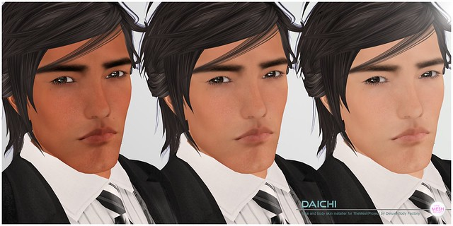 [DBF] Daichi skin The Mesh Project head installers all skin tones