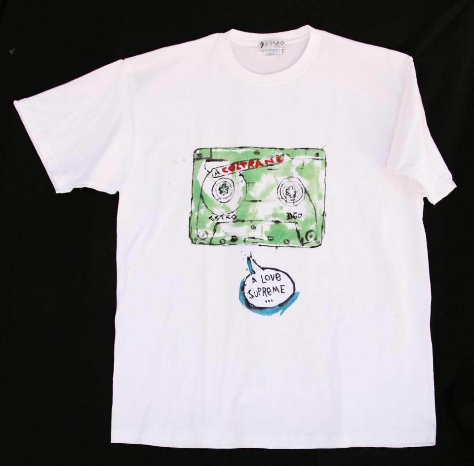 ESTRO camisetas pintadas a mano por zeroanodino