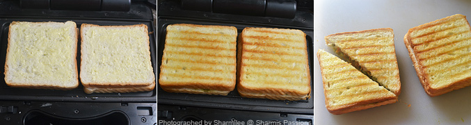 Veg Grilled Sandwich Recipe - Step6