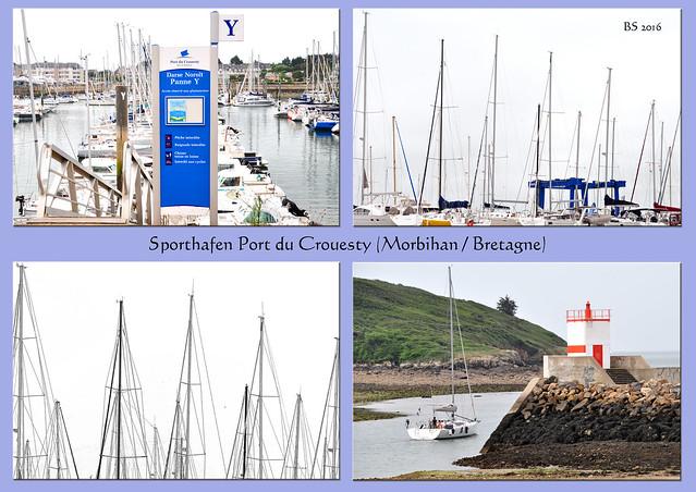 Bretagne 2016 - Sporthafen Port du Crouesty am Atlantik - Foto: Brigitte Stolle 2016