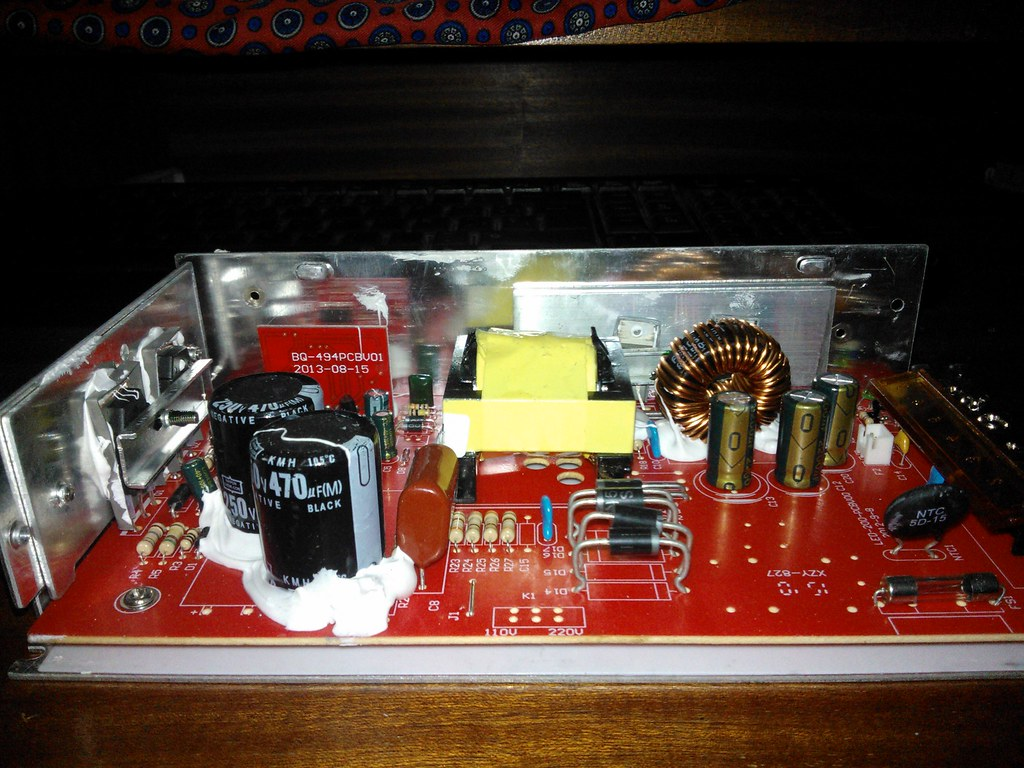 Switching Power Supply 30w Bridge Amplifier Circuit Based Tda2040 Audio Thanks For That Tip At The End Ill Look Up