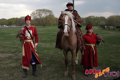 Соколиная охота в Коломенском