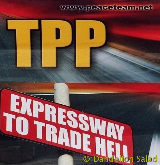 #TPP - Expressway to Trade Hell