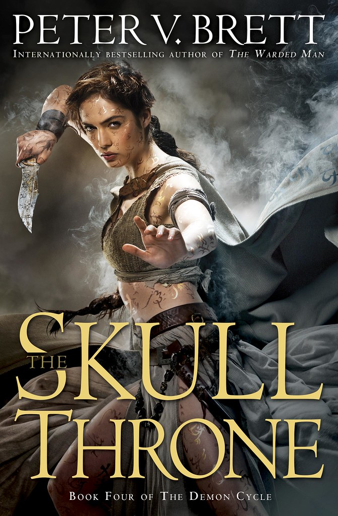 'The Skull Throne' by Peter V. Brett (reviewed by Skuldren)