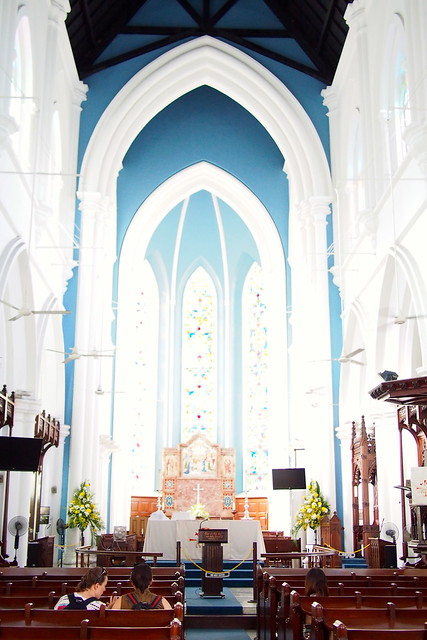 Tour of Singapore: St. Andrew's Cathedral
