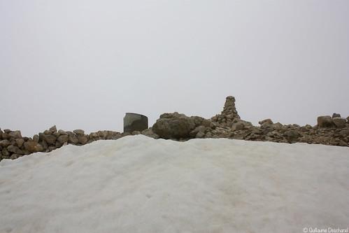 Arrivée au sommet