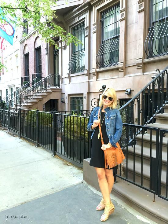 Hi Sugarplum | Packing for a NYC weekend