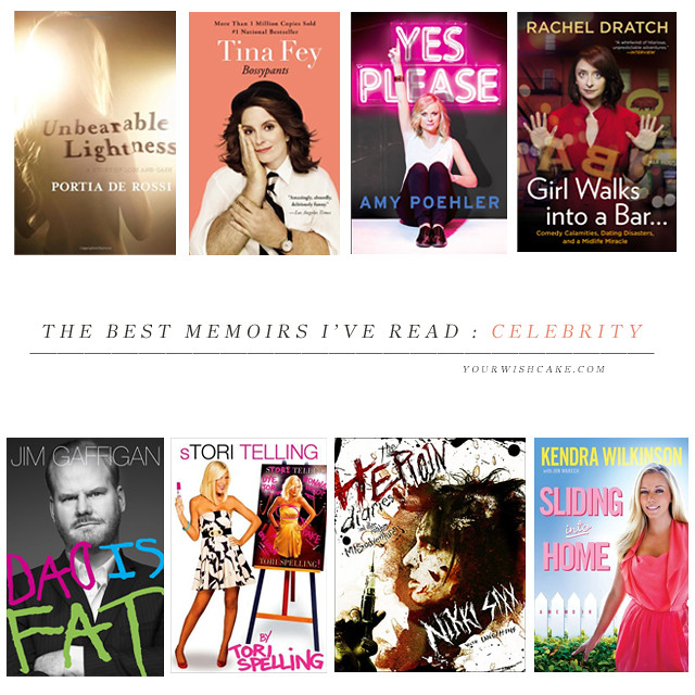 the best memoirs I've read: celebrity | yourwishcake.com