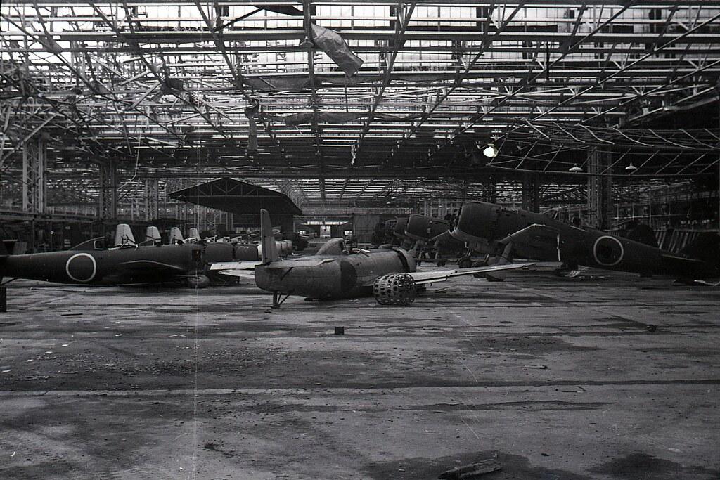 Nakajima Aircraft Ota Japan 1945 9 Of 37 35mm Negative F Flickr