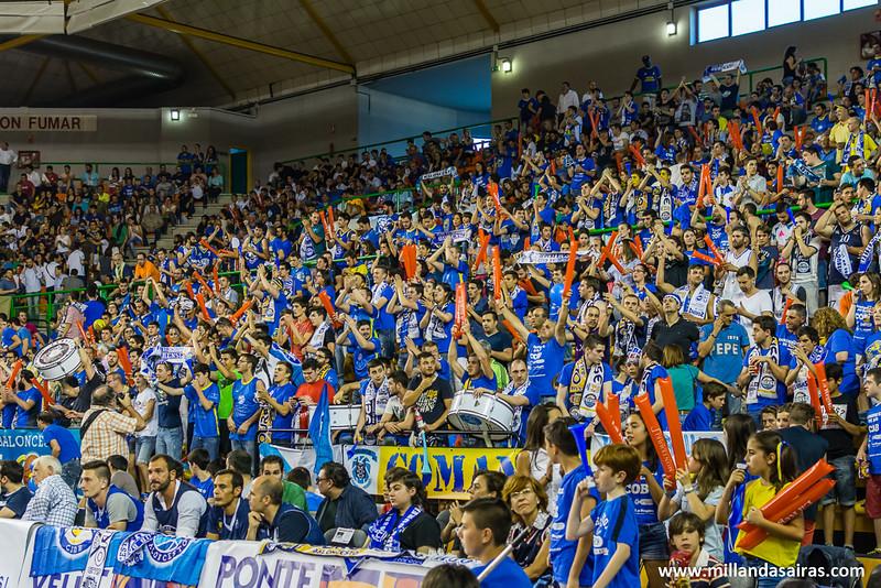 Afición en la final por el ascenso a la ACB frente al Obradoiro de Lugo