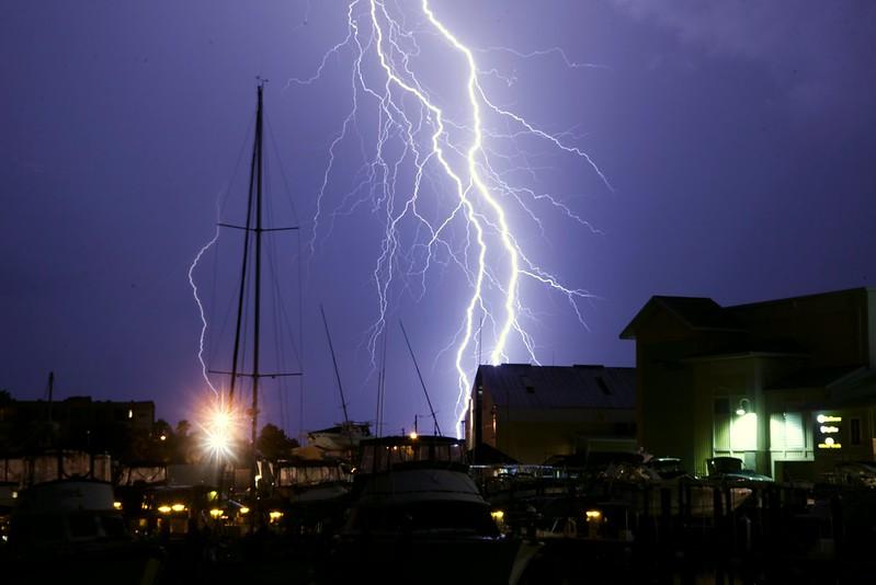 Florida Lightning Storm