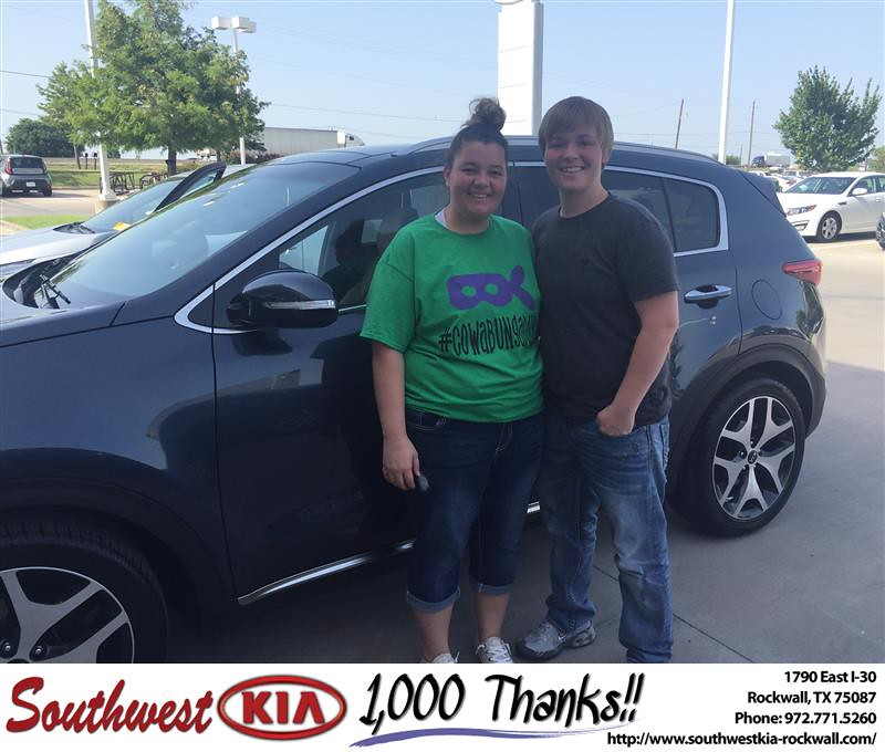 Congratulations Karlee On Your Kia Sportage From Angela
