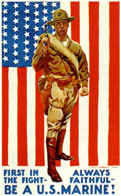 World War II Poster - Be A U.S. Marine