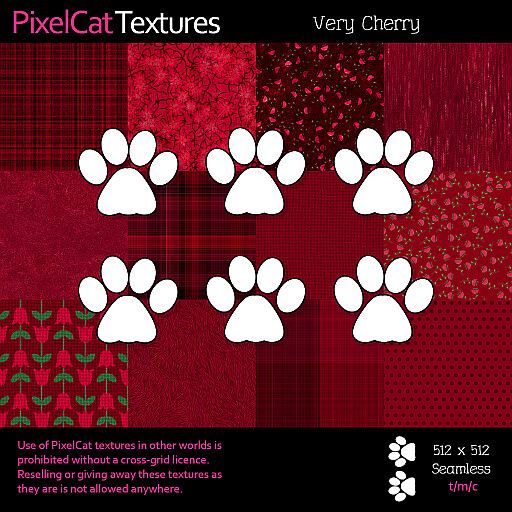 PixelCat Textures - Very Cherry