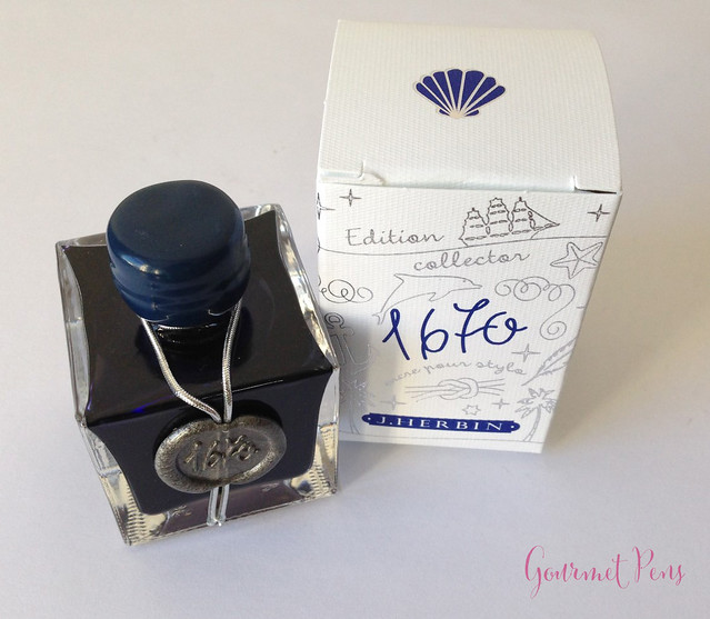 Ink Shot Review J. Herbin Bleu Ocean @BureauDirect (11)