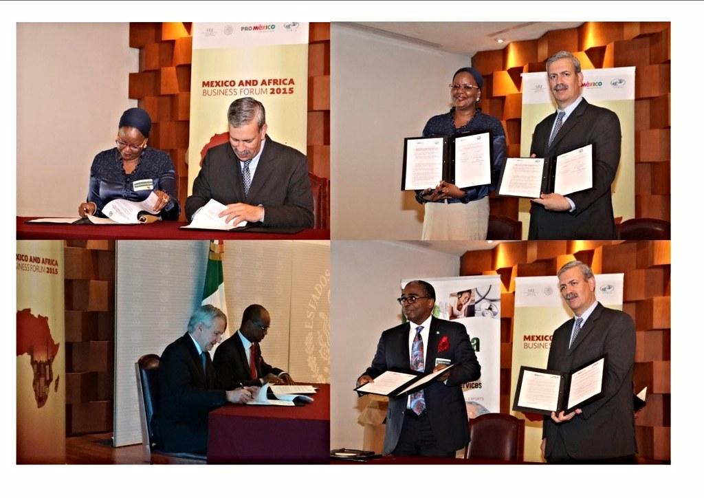 Suscripción de instrumentos México-Nigeria para impulsar las inversiones y el comercio bilateral