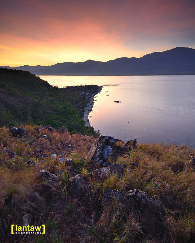 Sunrise at Mararison Island