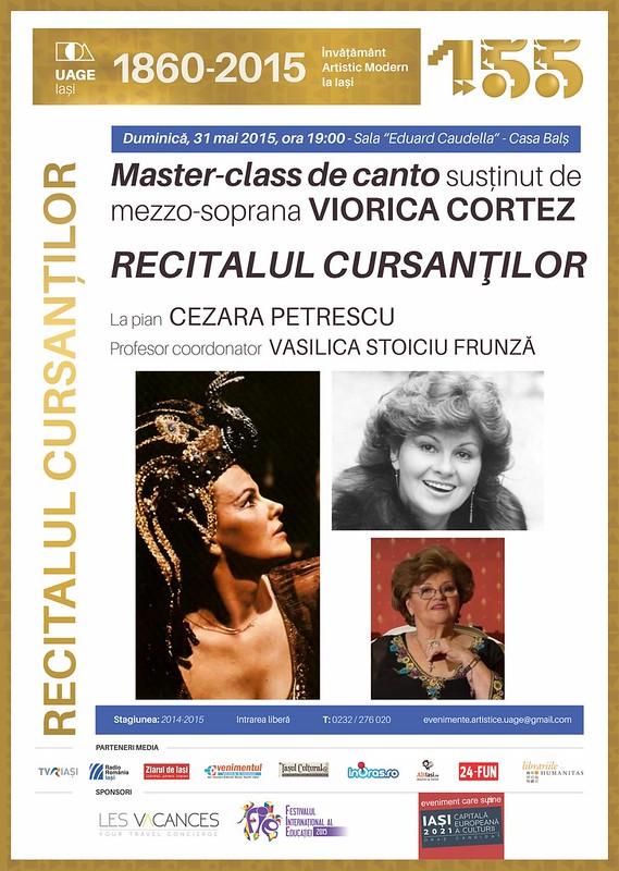 recital masterclass 31 mai