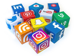 Social Media Mix 3D Icons - Mix #1 | by Visual Content