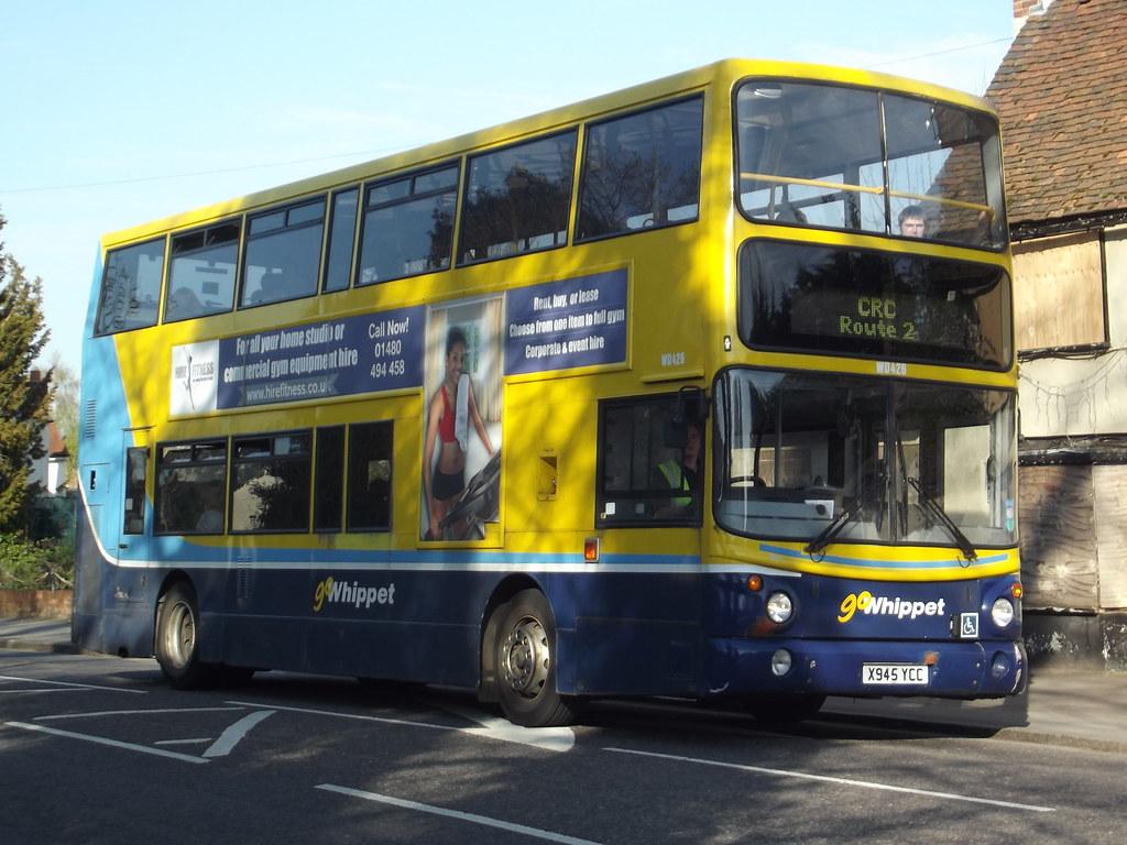 Go Whippet Ex Dublin Bus Volvo B7tl Alexander Alx400 X94