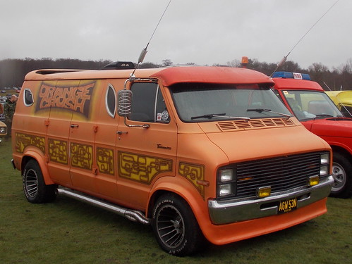 1975 dodge tradesman 200 custom van 39 orange crush 39 flickr. Black Bedroom Furniture Sets. Home Design Ideas
