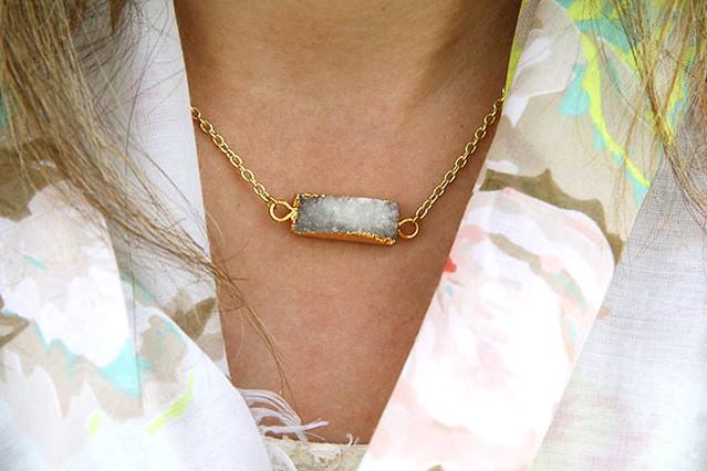Druzy-Necklace