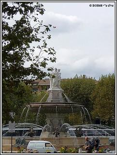 אקס אן פרובאנס - Fontaine de La Rotonde