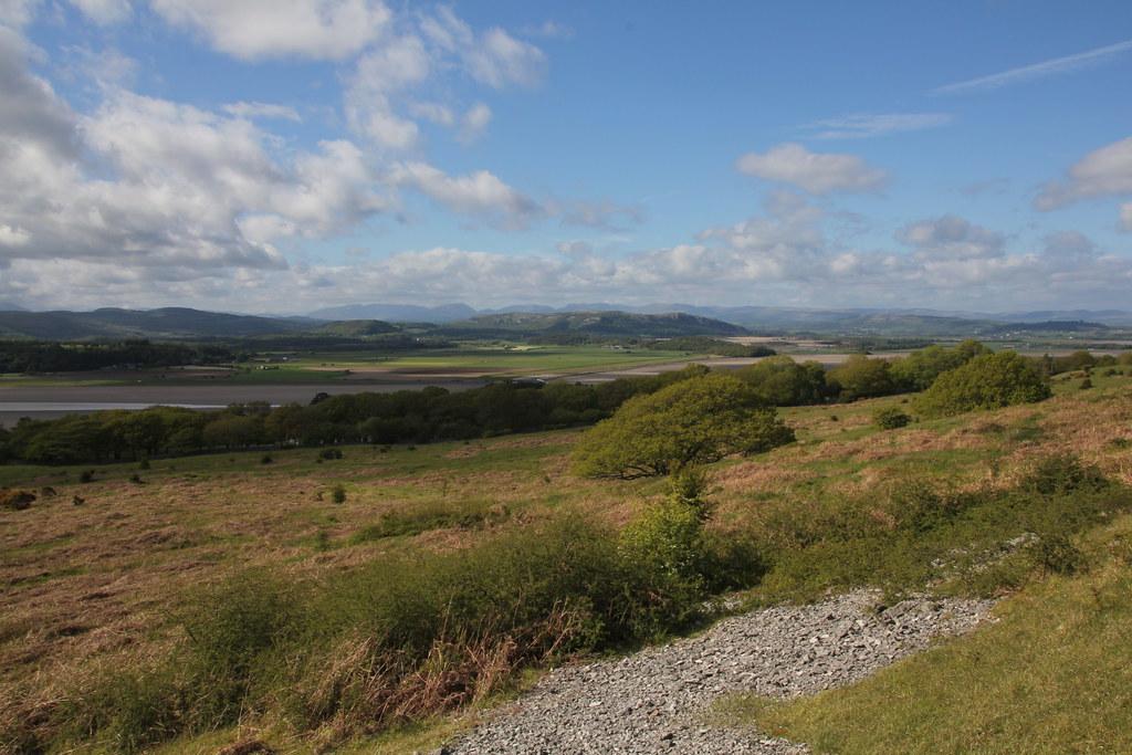 silverdale, lancashire, far arnside, arnside point, new barns, grubbins wood, arnside. arnside knott