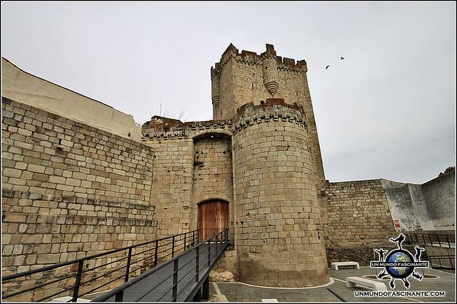 Castillo de Coria, Cáceres, Extremadura. España. Spain.