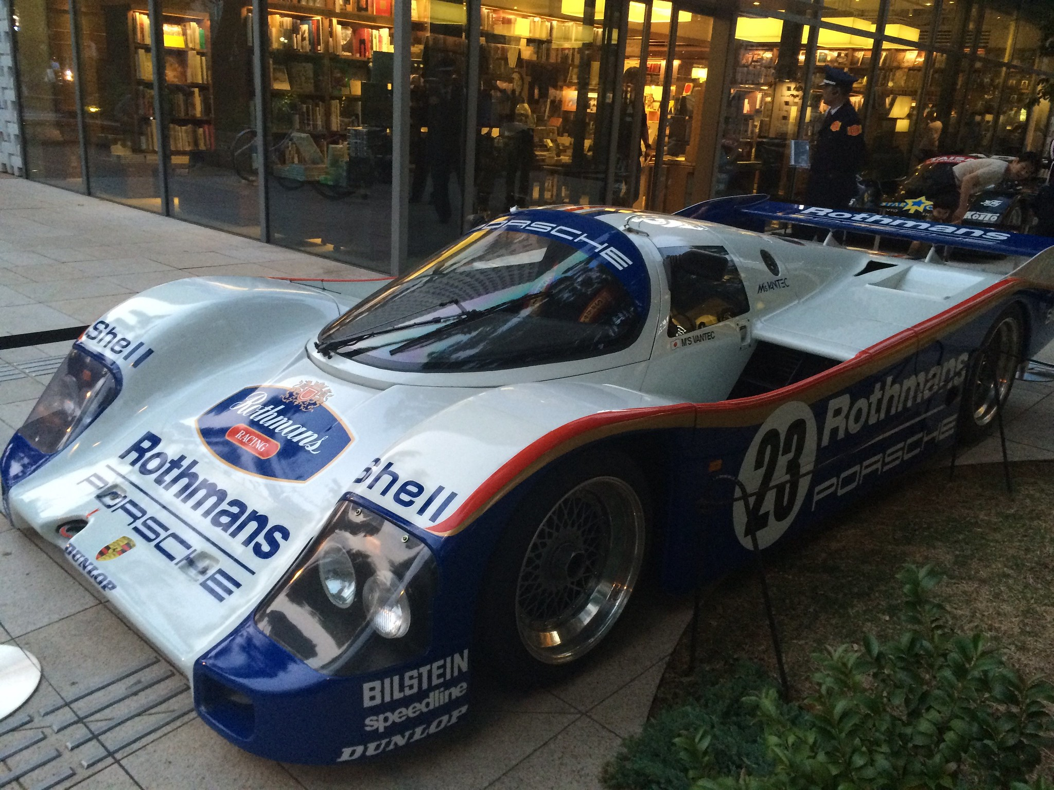 Porsche 962c road reagal !