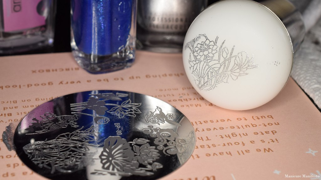 Born Pretty Store BP-80 stamping plate review