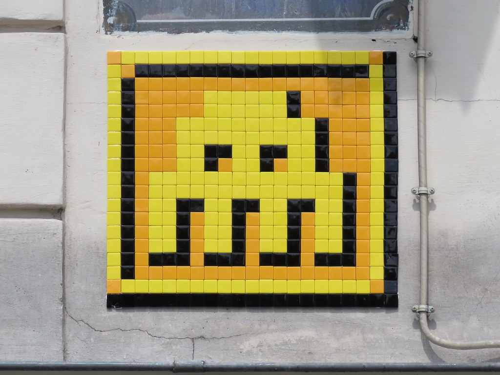 Enchanting Space Invaders Wall Art Composition - The Wall Art ...