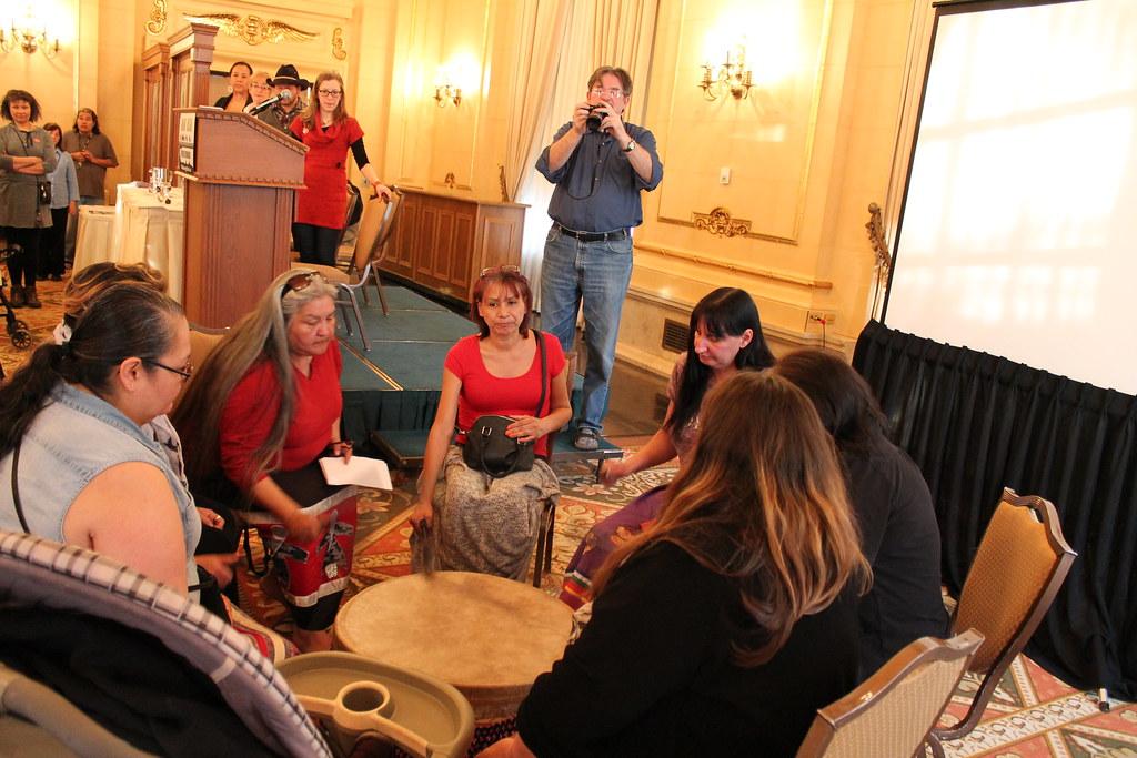 Keewatin Otchitchak Traditional Women Singers began the April 11 ...