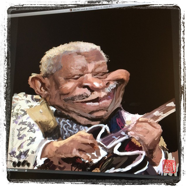 #bbking #wip #caricature